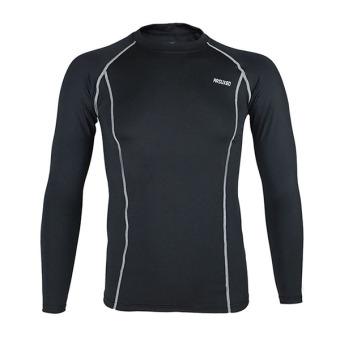 Ai Kecepatan Eropa basket riding berjalan pakaian ketat pakaian (Hitam)
