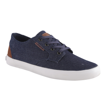 Airwalk Jonah Denim Sneakers Pria - Blue Denim