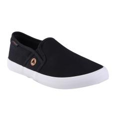 Airwalk Juan Sepatu Sneakers Pria - Black