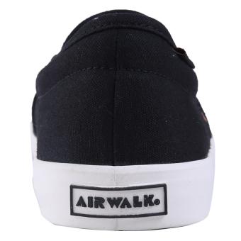 Airwalk Juan Sepatu Sneakers Pria - Black - 3