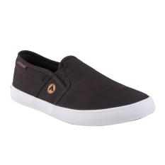 Airwalk Juan Sepatu Sneakers Pria - Dark Brown