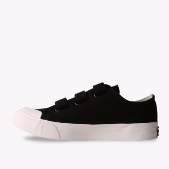 Airwalk New Basic Canvas Low Kids Sneakers Shoes - Hitam - 4