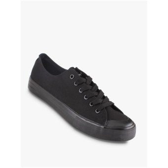 Airwalk New Basic Canvas Men's Sneakers Shoes - Hitam - 2