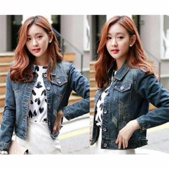 AK - Jaket Maya Jeans Washed Akiko Fashion