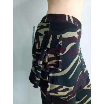 Aleizha Celana Rok Senam - Army - 4