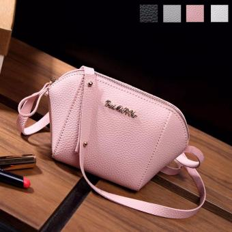 Amart Fashion Korean Women Mini Shoulder Bag Leather Zipped Messenger CrossBody Bags Purse Handbag Gifts