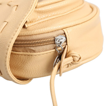 Amart kulit wanita Vintage Retro Mini tas tangan bahu tas Crossbody- Internasional - 4