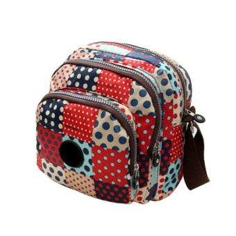 Amart Oxford Printing Crossbody Shoulder Bags Ladies Handbags(Colorful Dot) - Intl