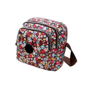 Amart Oxford Printing Crossbody Shoulder Bags Ladies Handbags(Colorful Flowers) (Intl) - Intl