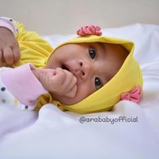 Angsana Flower (Jilbab Kerudung Hijab Bayi dan Anak)