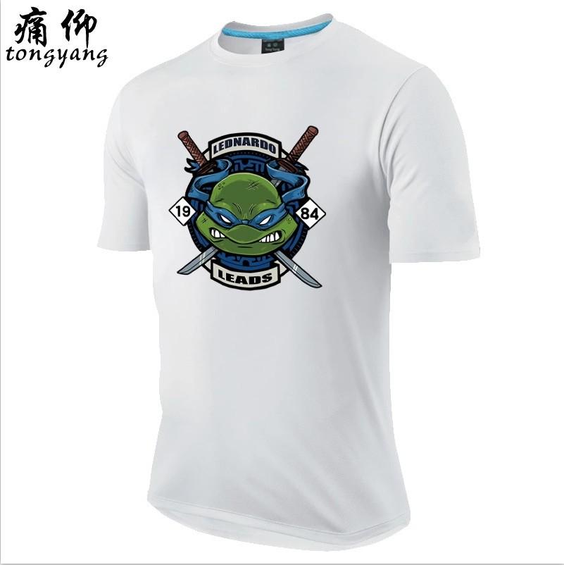 Animasi Zhou Bian kartun yard besar remaja laki-laki bottoming kemeja t- shirt (