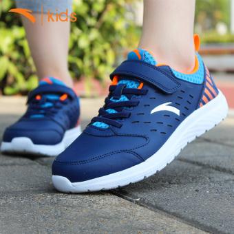 Beli ANTA Kasual Ringan Model Musim Gugur Anak Laki-laki Sepatu Olah Raga Anak-anak Sepatu Olahraga (-4/Minyak Biru/Cahaya Fluoresensi Orange/ANTA ...