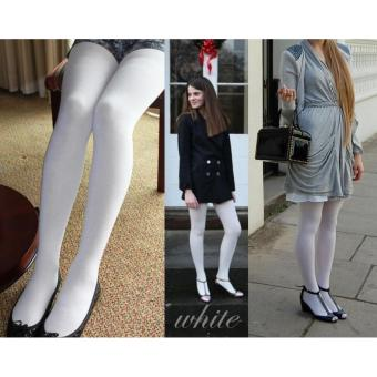 Apple Stocking Celana Pantyhose Apple 120D - Putih