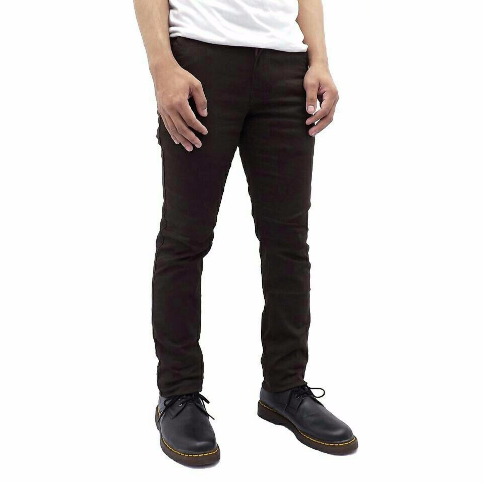 Ard Celana Kargo Panjang Brown Cokelat Tua Daftar Harga Penjualan Lois Jeans Original Chino Pria Cfsk001b 30 Premium Dark