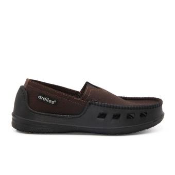 Ardiles Paylon Sepatu Kasual Anak Slip On Moccasin Pasadena (TG) - Coklat Size 34-37 - 4