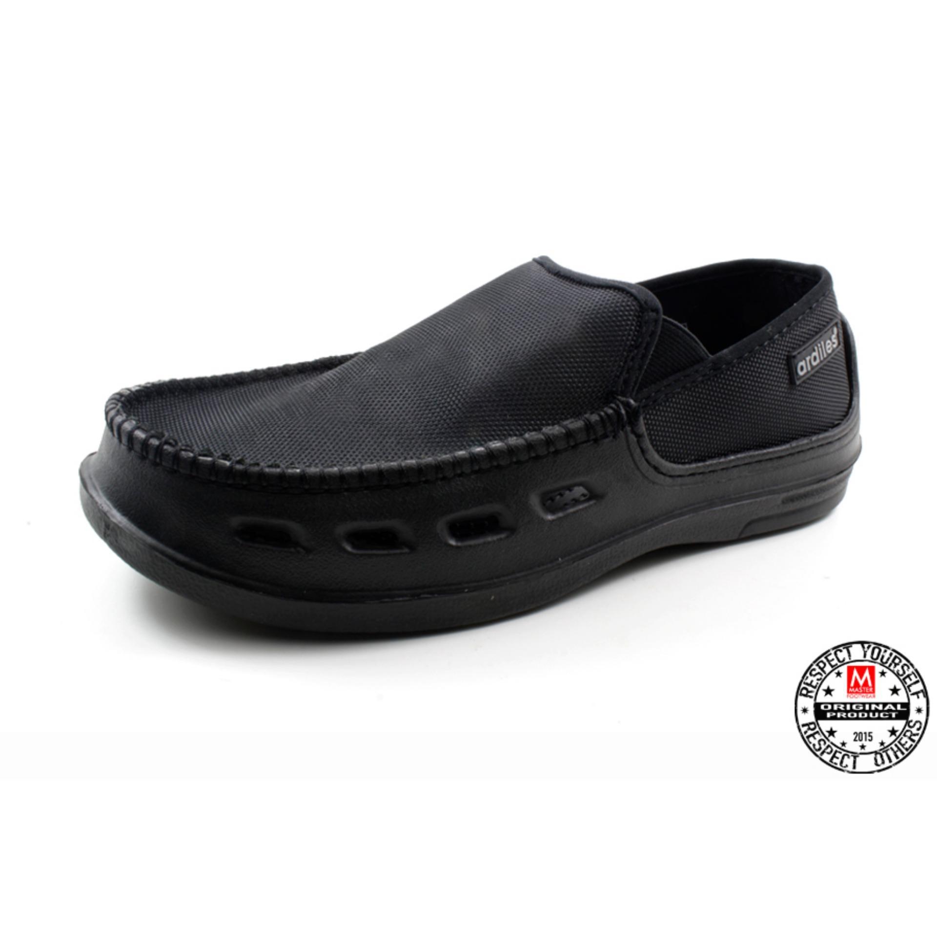 New Casual Shoes From Ardiles Sepatu Sandal Cartz Blue Roberto Slip On Pria Mario Black