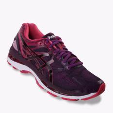 Asics Gel-Nimbus 19 Women's Running Shoes - Standard Wide - Ungu