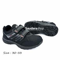 ATT 772 Sepatu Sekolah Anak Black [28-41]  / Sepatu Sekolah Anak Hitam