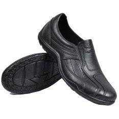 ATT Sepatu Pria Kerja Pantofel Karet Anti Air K013 - Hitam