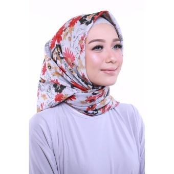Auzara Hijab Adiba - Grey - 2