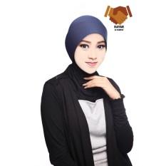 Auzara Hijab - Ciput Marsya/Mika Antem(Anti Tembem) - Navy Blue