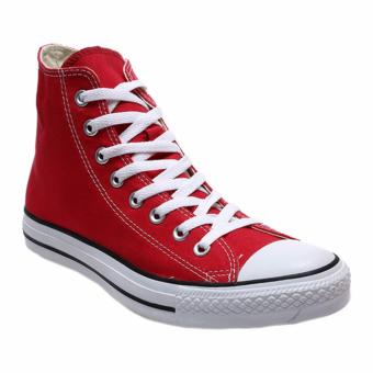 Ayako Fashion CV - 09 Point Hi Classic Unisex Sneaker - (Red)
