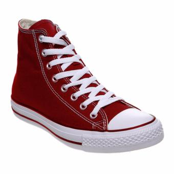 Ayako Fashion CV - 12 Point Hi Classic Unisex Sneaker - (Maroon)
