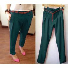 Ayu Fashion Pants Coco Wanita - Tosca - Best Seller