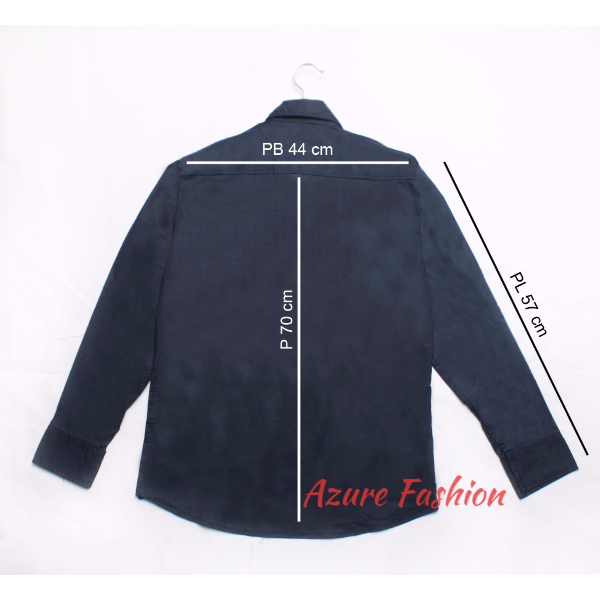 ... Azure Fashion millor top navy | KEMEJA PRIA | KEMEJA FORMAL | KEMEJA CASUAL ...