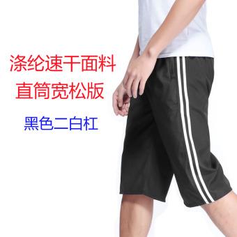 Gambar Bagian tipis celana musim semi dan musim panas longgar celana olahraga celana (Versi lurus