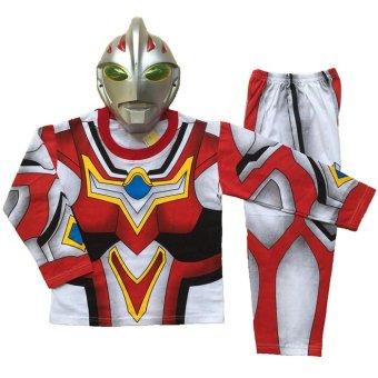 Baju Anak Superhero Kostum Ultraman Go - 3