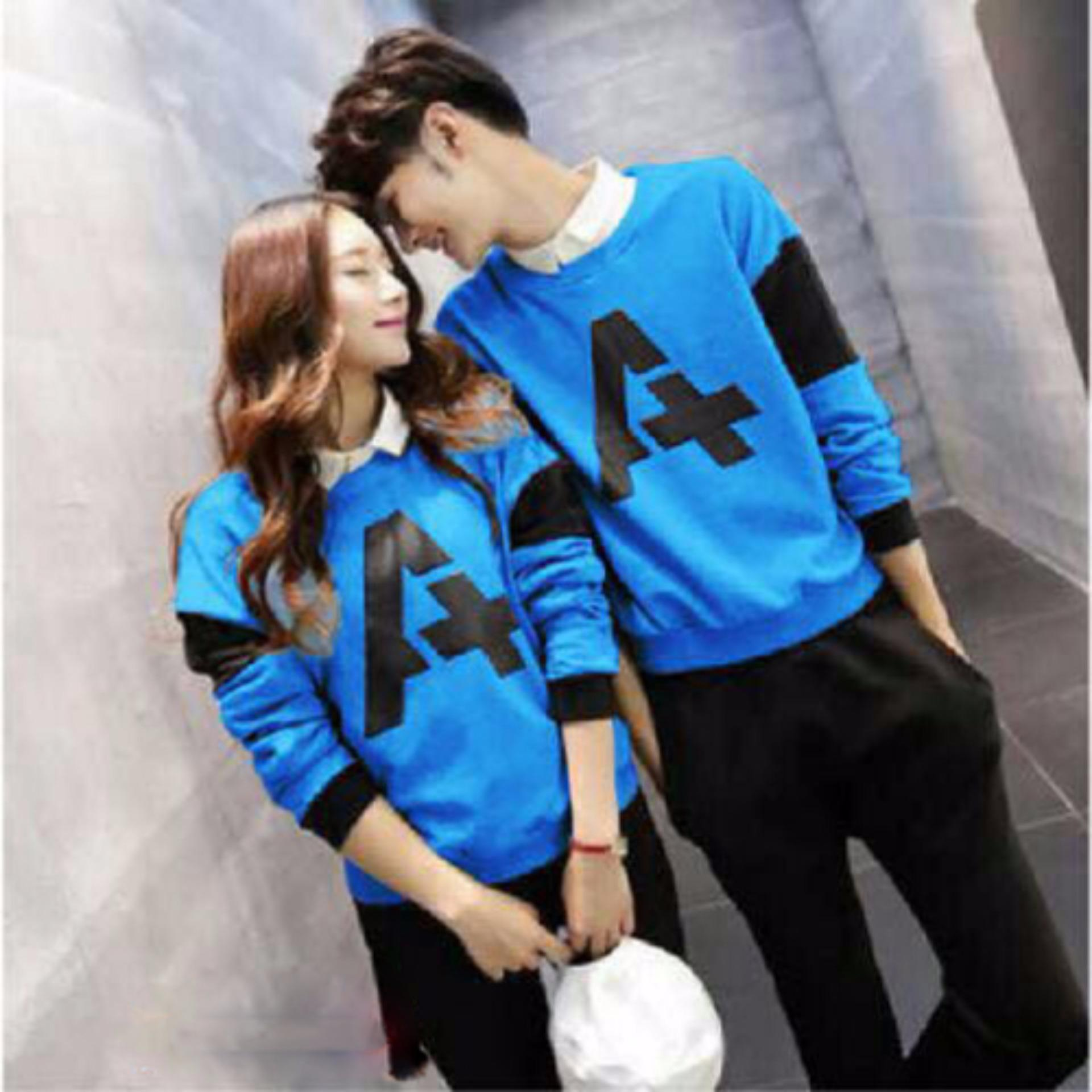 Baju Couple | Kaos Couple Lengan Panjang | Baju Kaos Kapel | Pakaian Pasangan