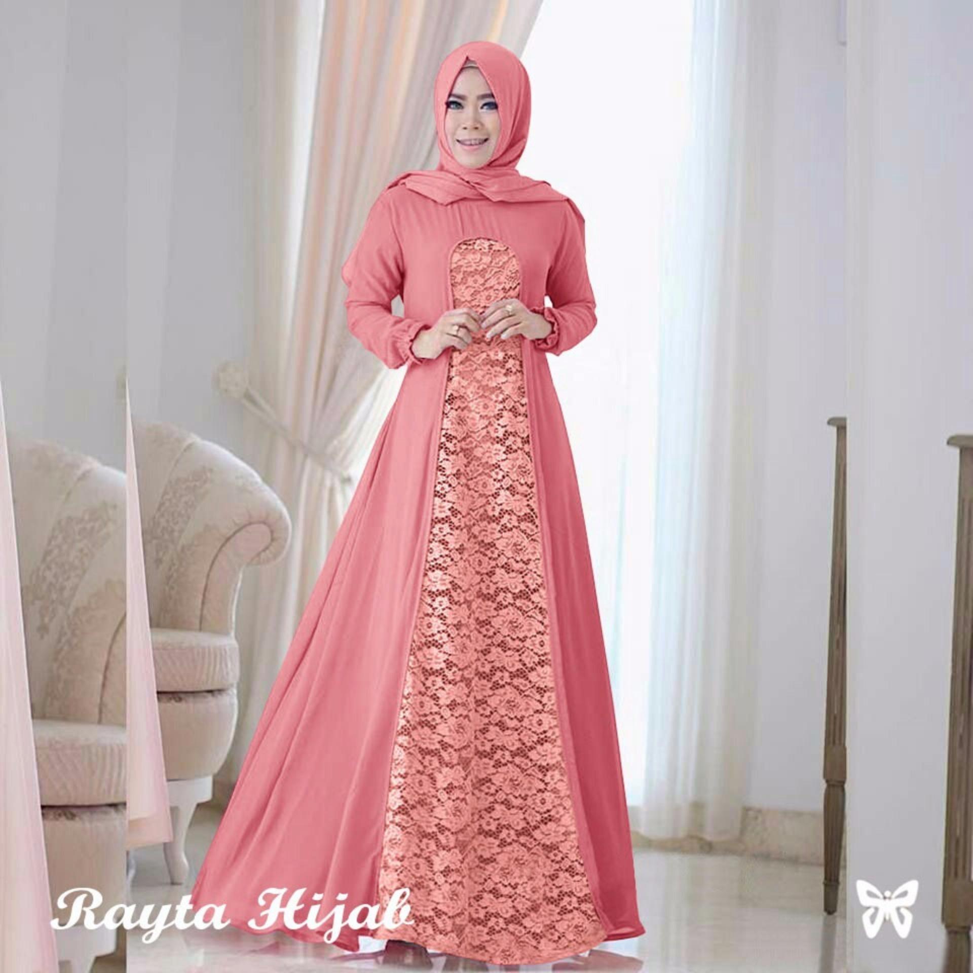 Murah Baju Muslim Amp Jumpsuit Dress Wanita Gamis Pesta Baju