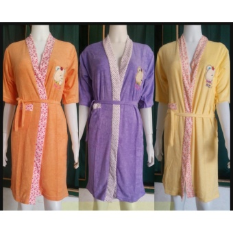 Beli Dg Harga Murah Fashion Baju Handuk Kimono Mandi Set