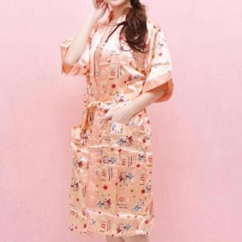 Harga Baju Tidur Kimono Handuk Jumbo Piyama Polos Termurah Satin