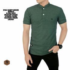 ... Kaos Polo Shirt Pria Tangan Pendek - Orange Hari Ini. Source · Lengan Pendek Cotton - Hijau Army. Source · bajuku murah poloshirt green .