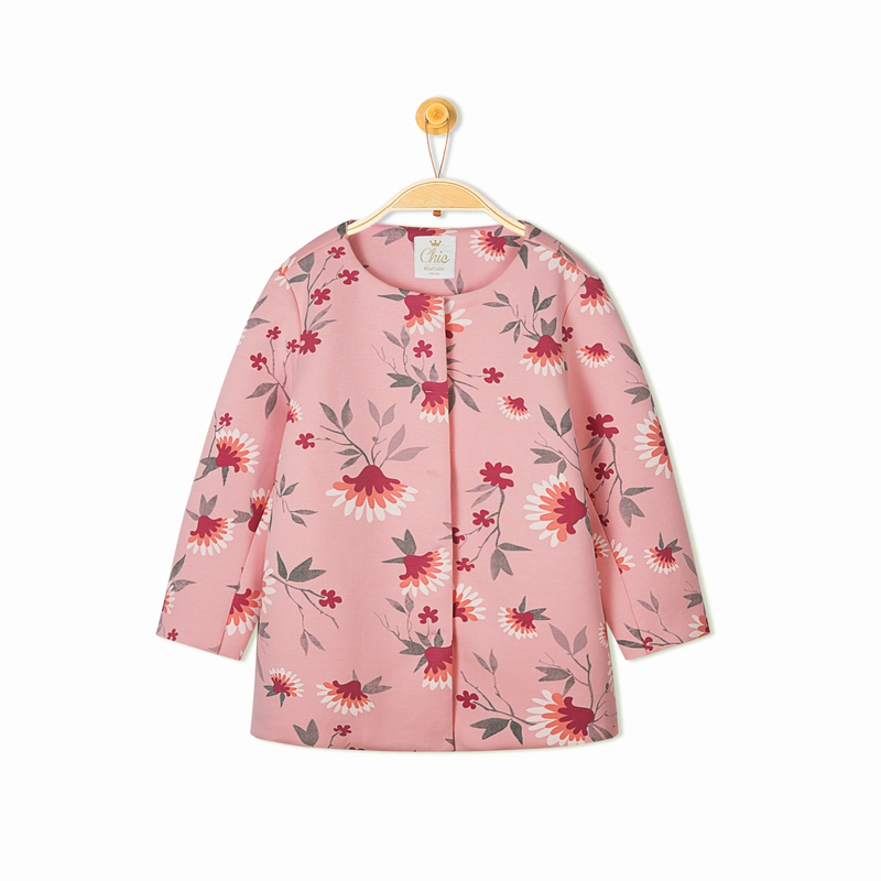 Balabala kuda gadis pencetakan baru manis kemeja (Nada merah muda 0065)