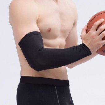 Basket pelindung tangan lengan Pad yg tahan pukulan Antislip lengan panjang - International