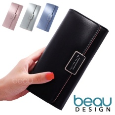 BEAU Dompet Wanita Korea Forever Young PU Leather Women Purse Wallet