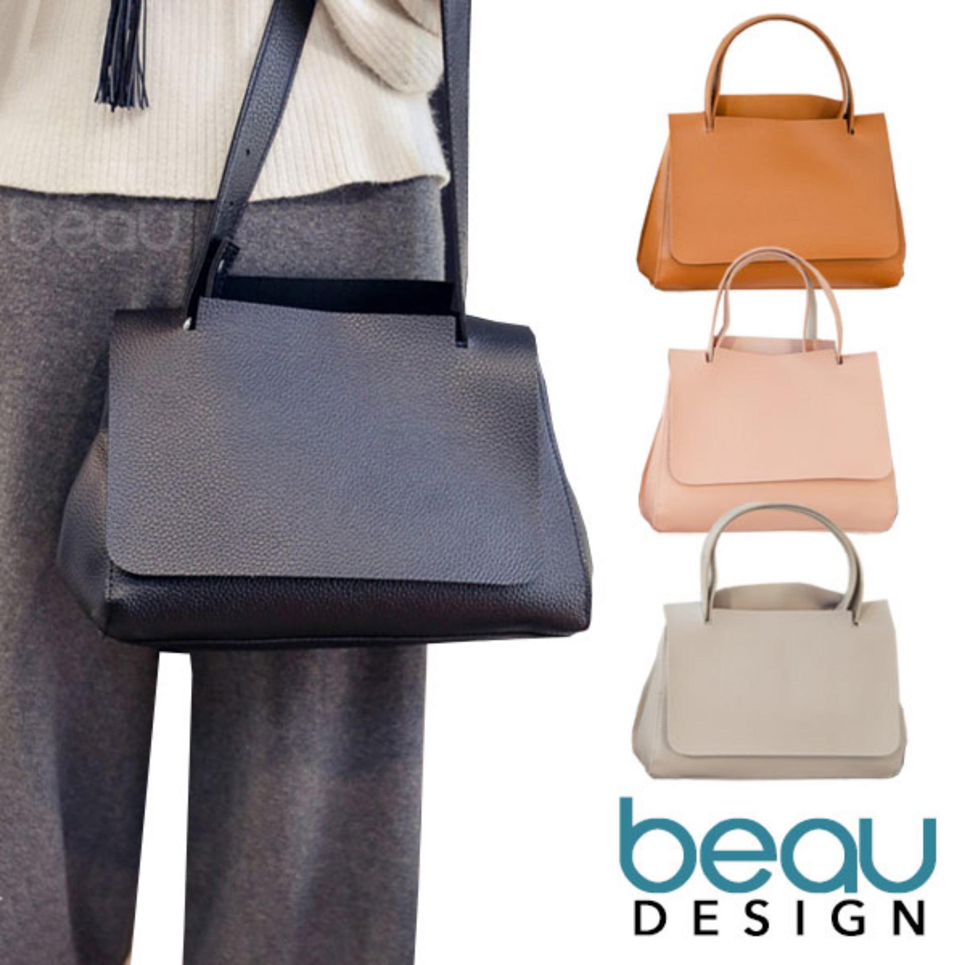 Suitable for any occasion BEAU Tas Wanita Simple Top Handle Bags Handbags