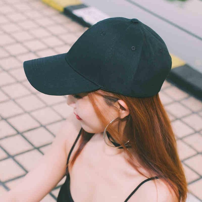 Beberapa Korea Fashion Style denim untuk pria dan wanita papan lampu topi bisbol topi (Model