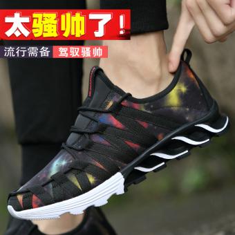 Beli Bernapas jala musim semi dan musim panas jala sepatu sepatu sneaker (898-warna bintang) Murah