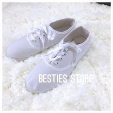 Besties Soul Casual Sneakers Sepatu Fashion Wanita - Putih