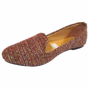Binev Sepatu Slip On Wanita Develop - Chocolate - 2 ...