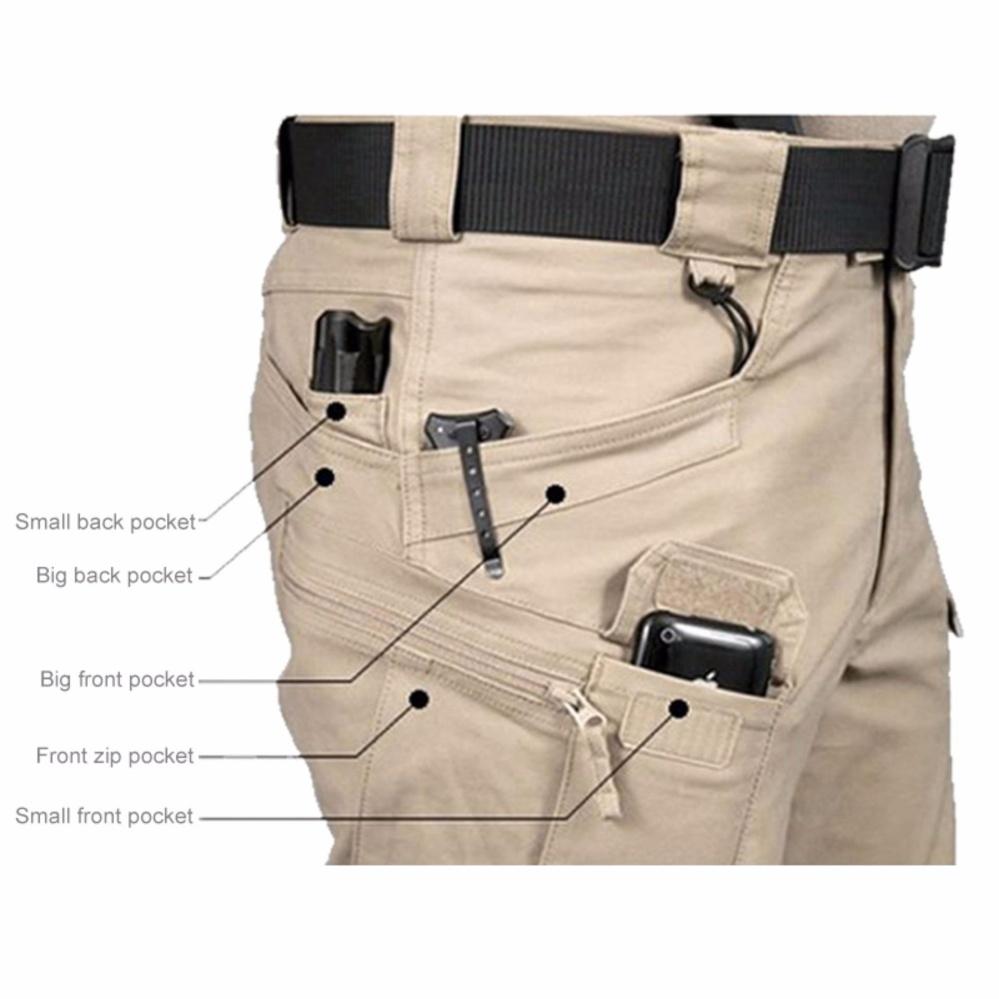 Penawaran Bagus Blackhawk Tactical Pants Celana Cargo Panjang Pendek Premium Warna Krem