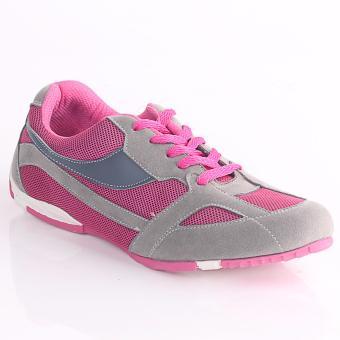 Blackkelly Sepatu Olahraga Wanita / Sepatu Sport / Sepatu LariLNUx299 Grey Red