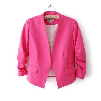 Blazer Model Slim Warna Candy