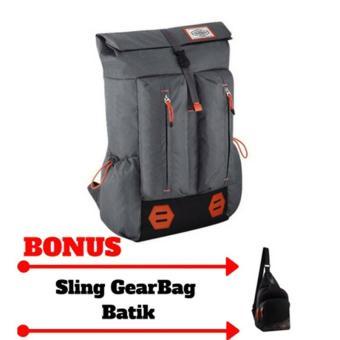 ... Laptop Backpack - Black Grey + Raincover +. Source · Bonus Gearbag H-1209-13037 - Tas Punggung Ransel Korea Wanita Daypack Distro Backpack