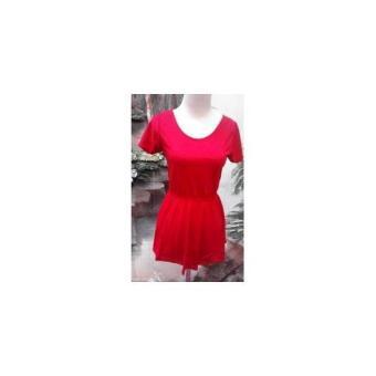 BR04546 G22 DRESS RED