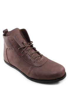 Fitur Brodo Sepatu Boots Kulit Asli 100% Bradleys Anubis Pull Up ... 25b70d4d1e